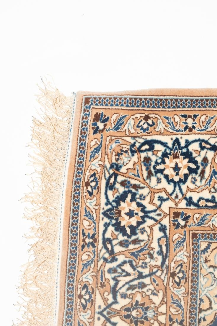 Persian Rug Wool/Silk - 4
