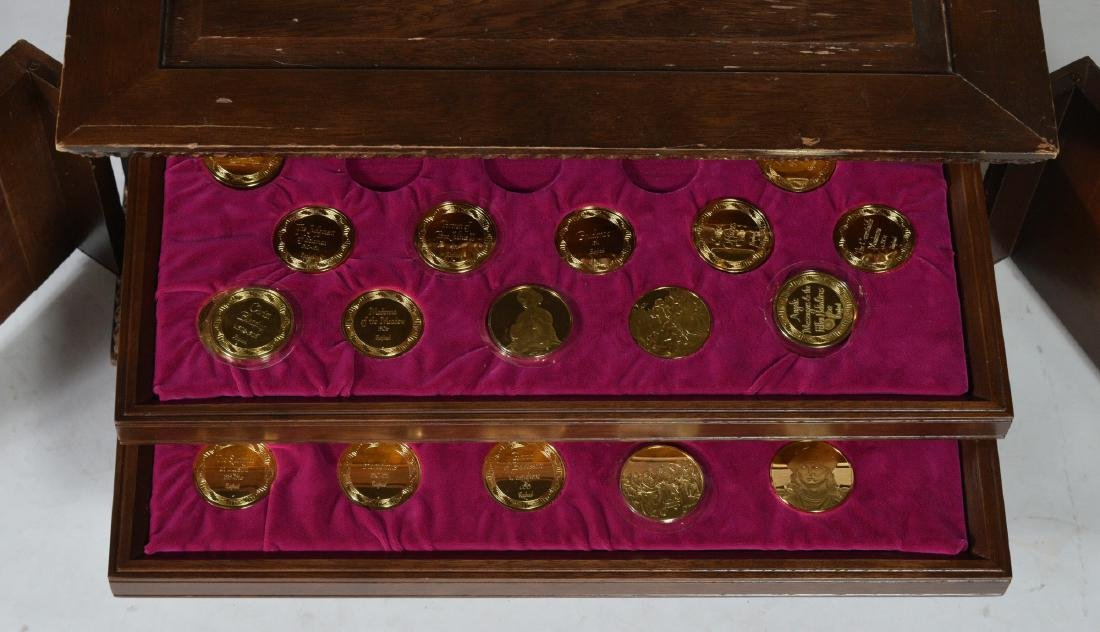 Chest of Silver Medallions - 2