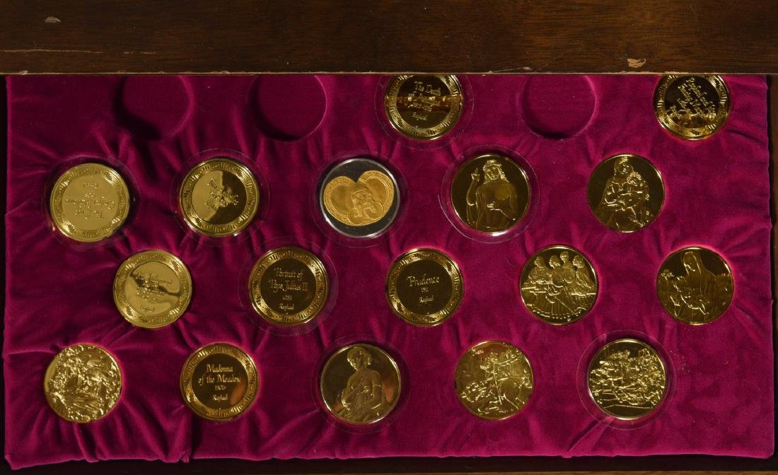 Chest of Silver Medallions - 3