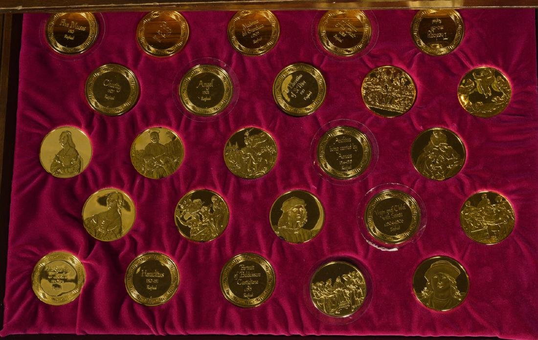 Chest of Silver Medallions - 4