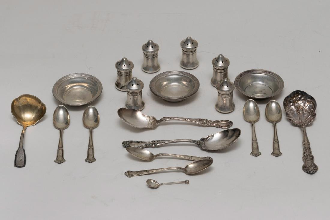 Lot of Wallace and Other Sterling (21)