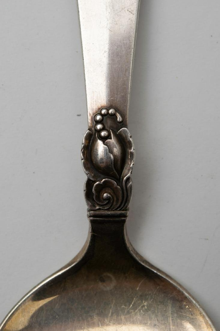 A Sterling Silver Pie Server by Frigast, Denmark - 2