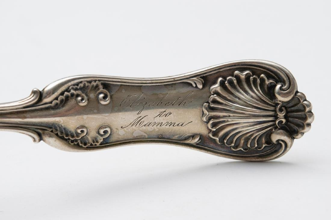 A Large Parcel Gilt Sterling Silver Ladle - 3