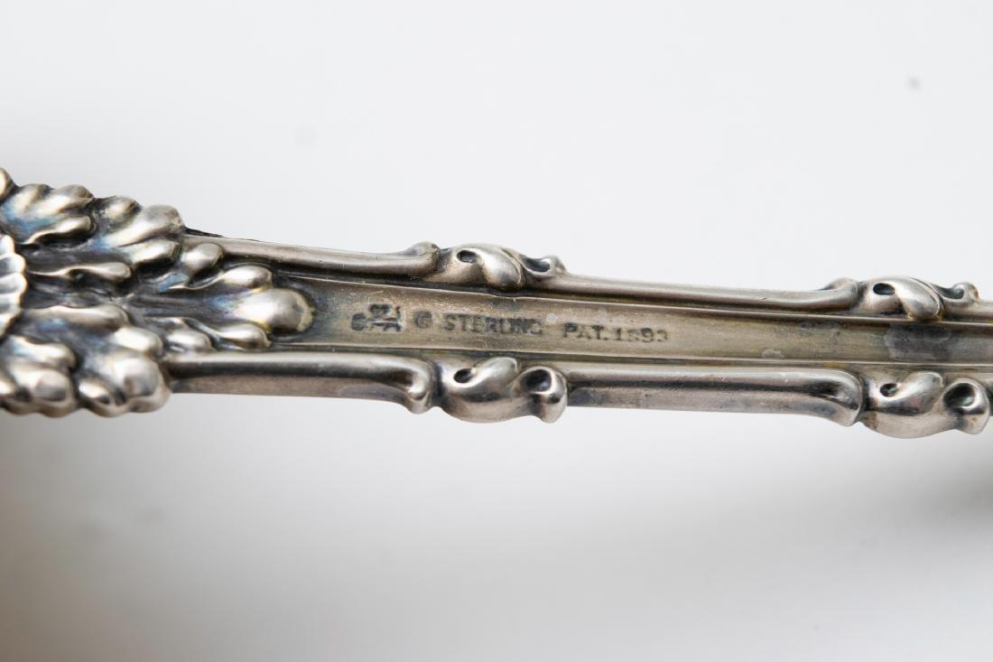 A Large Parcel Gilt Sterling Silver Ladle - 5