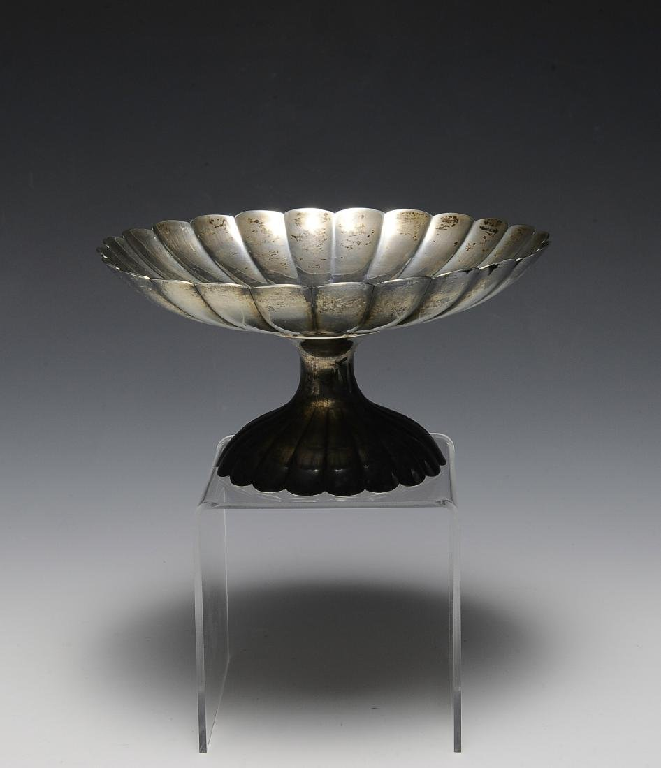Mid Century Modern Sterling Compote