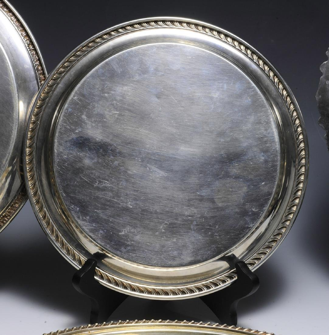 Seven Pieces of American Silver Plate - 3