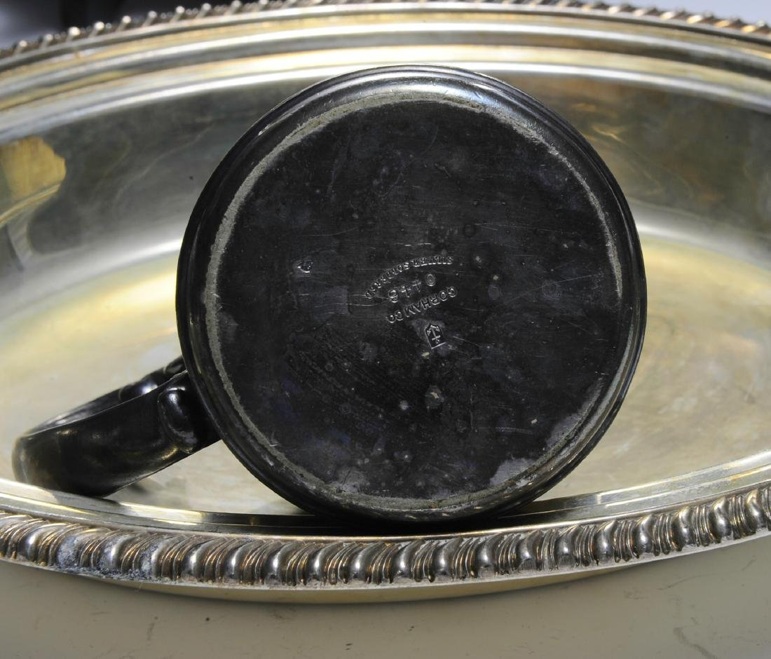Seven Pieces of American Silver Plate - 6