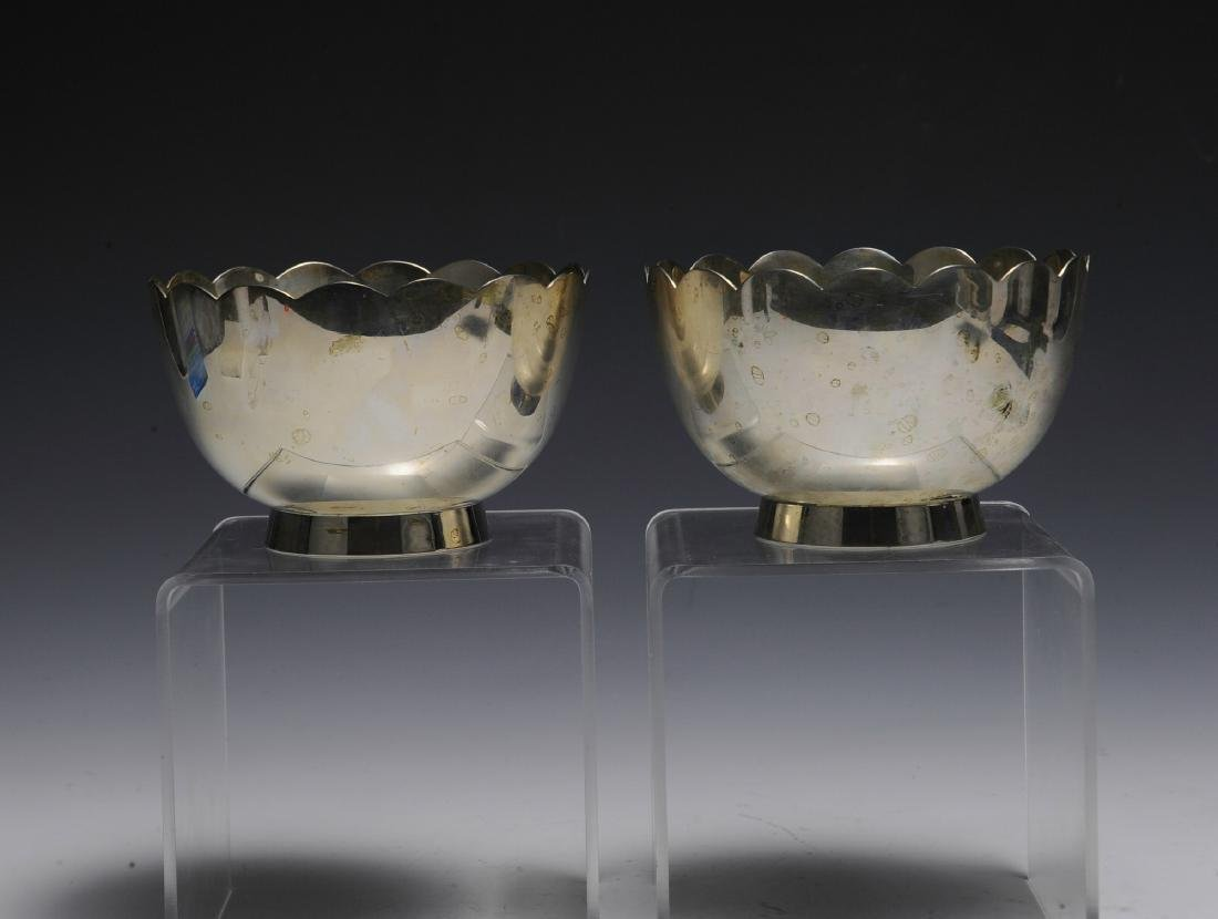 Two Sterling Silver Anniversary Bowls - 2