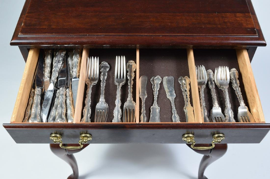 Set of Gorham Strasbourg Sterling Flatware (114) - 3