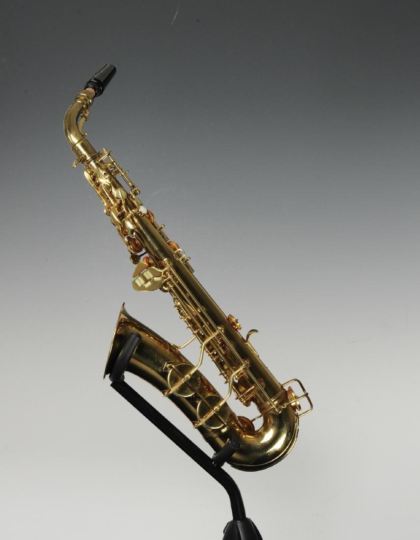 Cased C. G. Conn Alto Saxophone Model 6M - 2