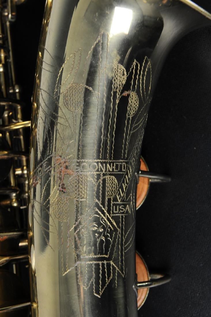 Cased C. G. Conn Alto Saxophone Model 6M - 5