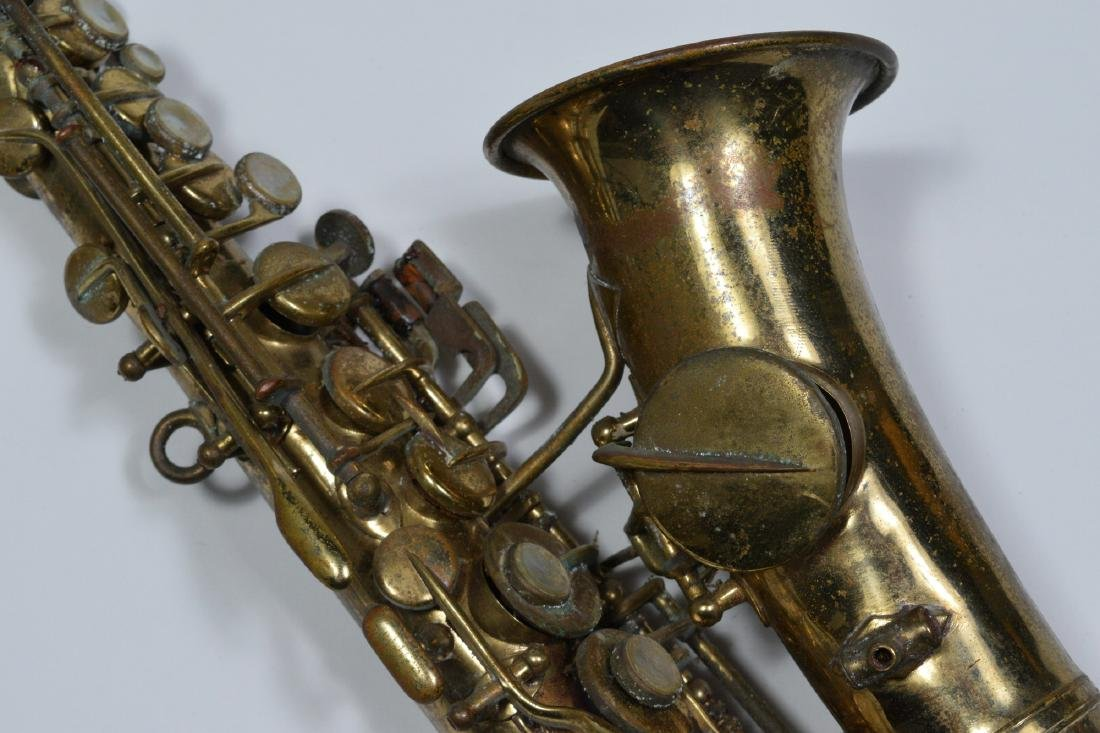Small Soprano Saxophone Owned by Rudy Vallee - 2