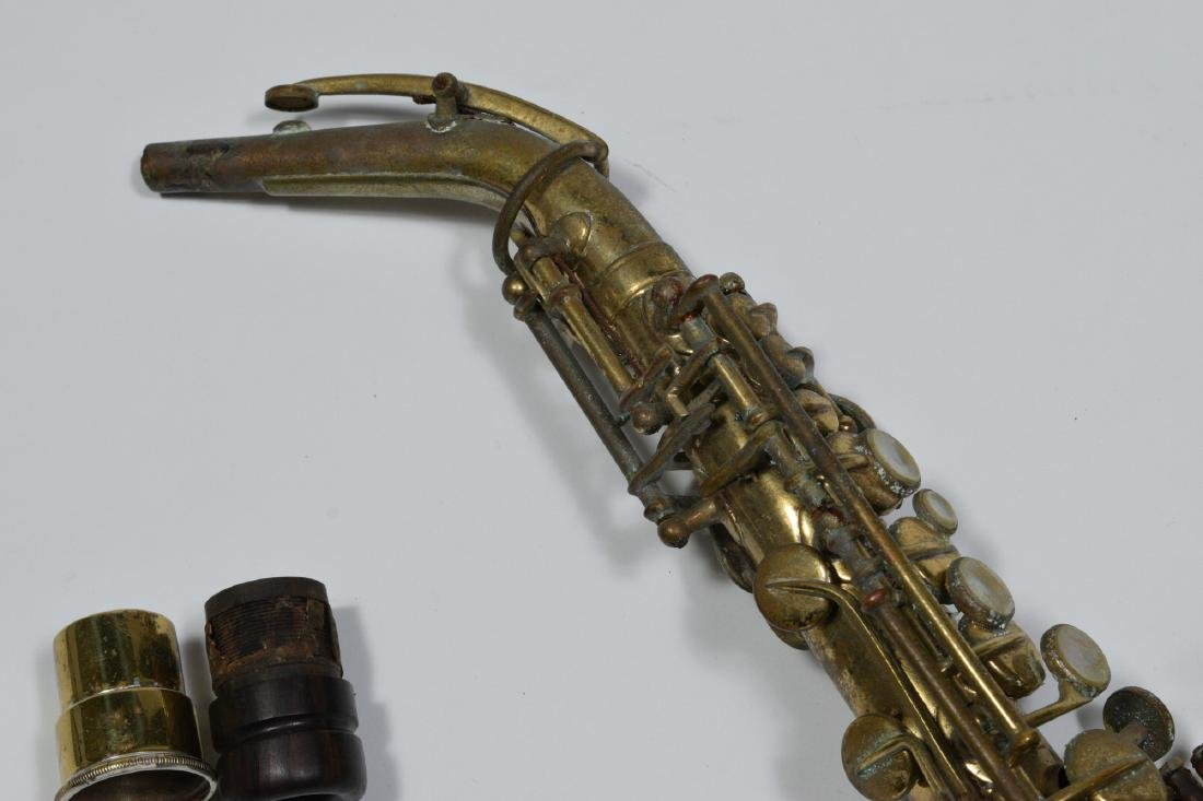 Small Soprano Saxophone Owned by Rudy Vallee - 3