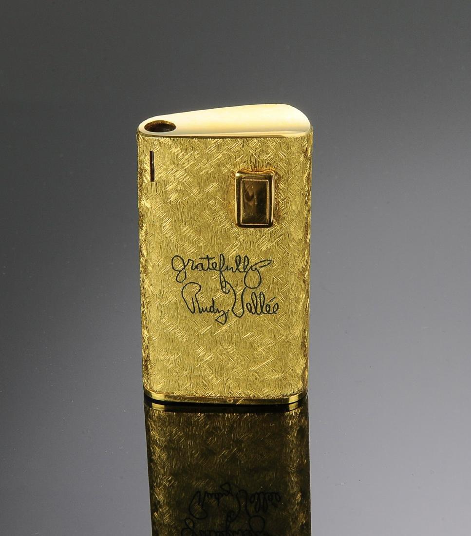 A Rudy Vallee Presentation Lighter