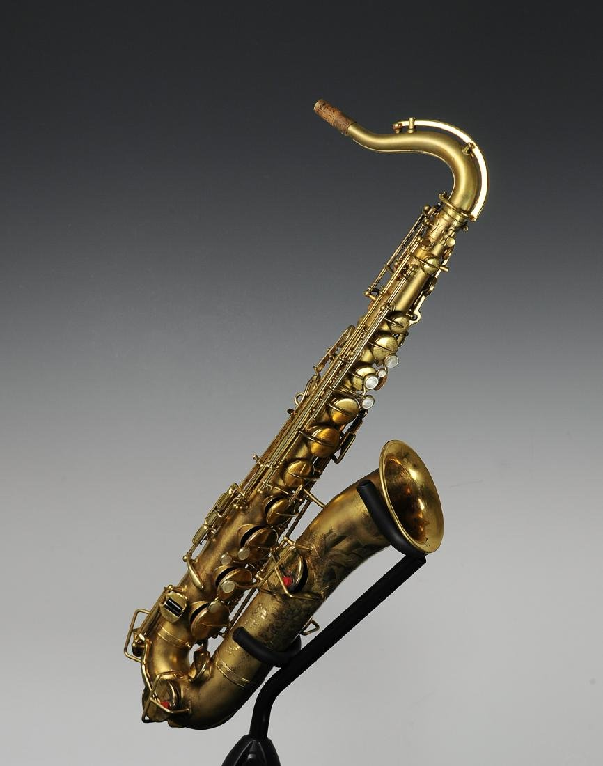 Cased Selmer Low Pitch Saxophone from Rudy Vallee