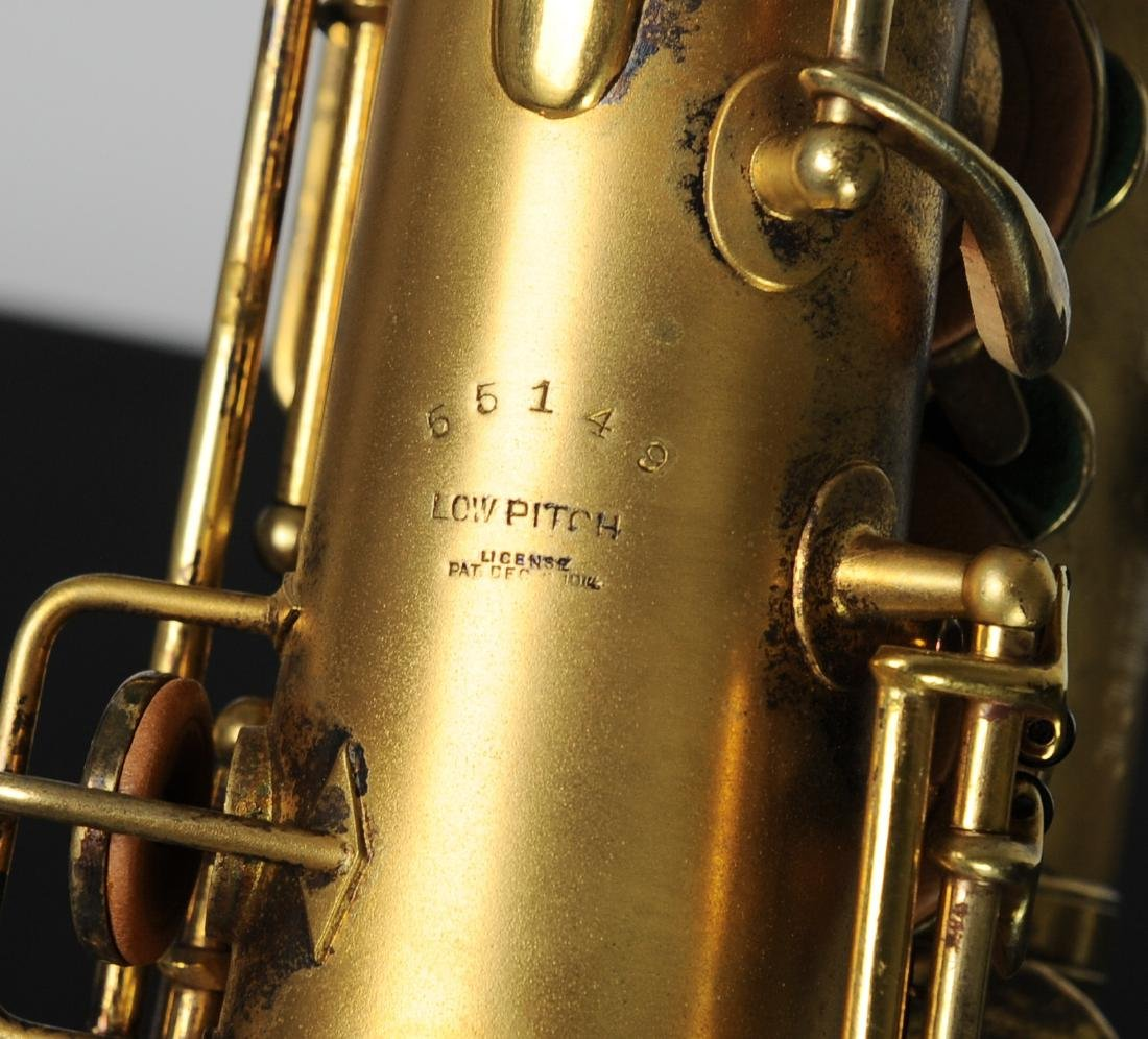 Cased Selmer Low Pitch Saxophone from Rudy Vallee - 3