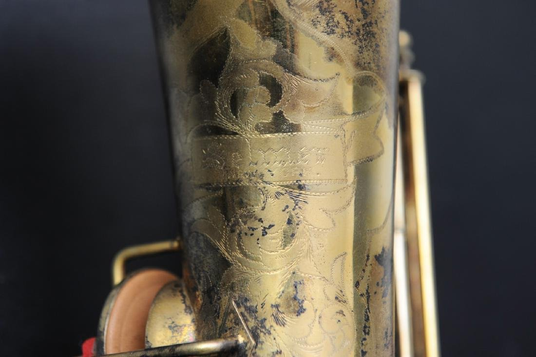 Cased Selmer Low Pitch Saxophone from Rudy Vallee - 5