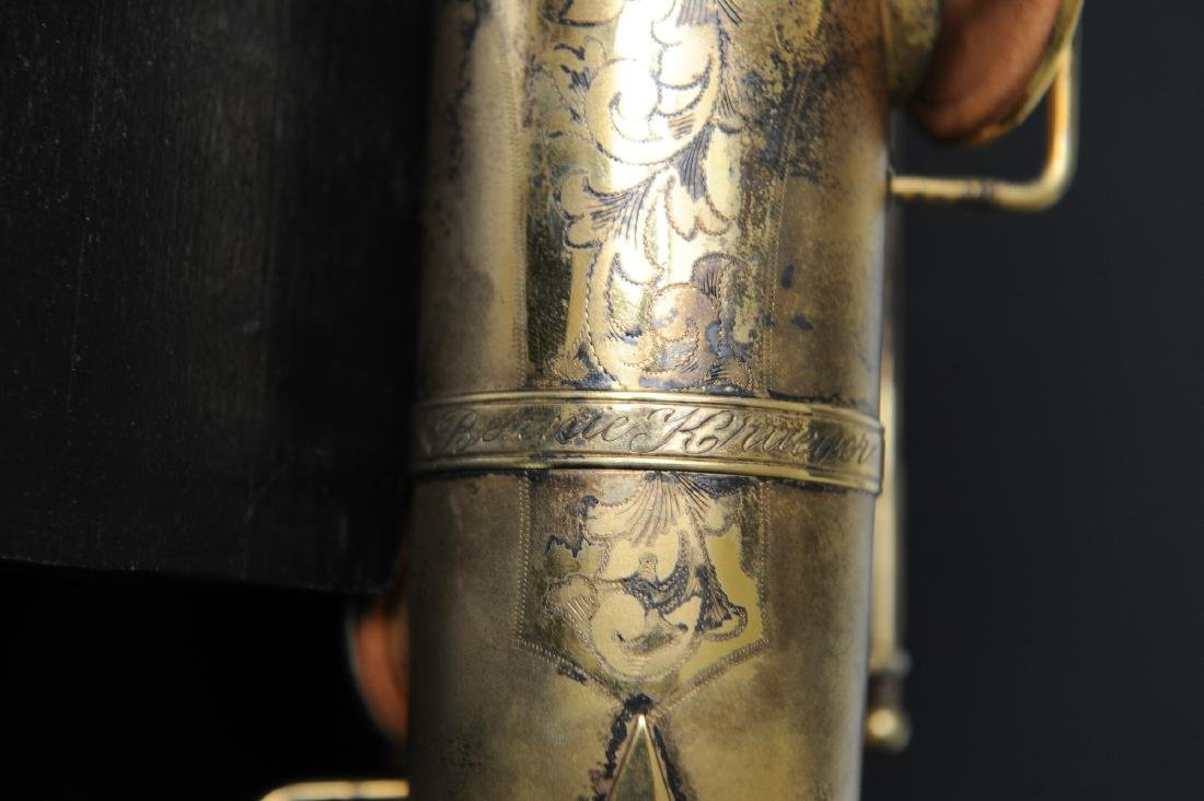 Cased Selmer Low Pitch Saxophone from Rudy Vallee - 6