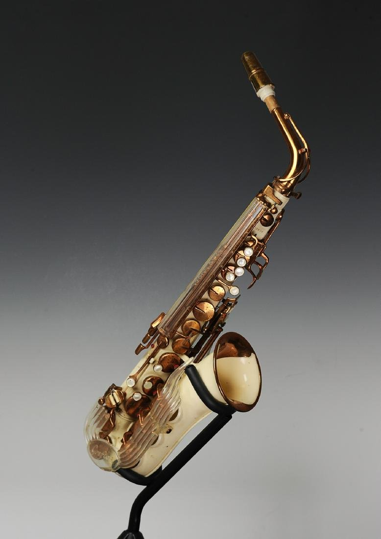 Cased Grafton Saxophone Owned by Rudy Vallee