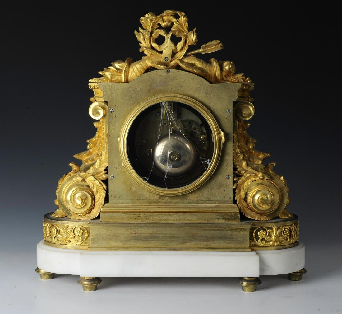 19th Century Berthoud Gilt Bronze Mantel Clock - 4