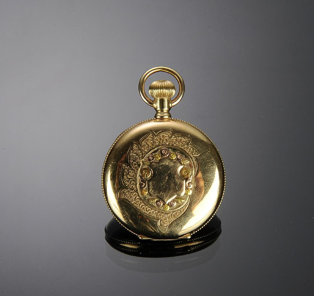 A 14K Gold Elgin Pocket Watch