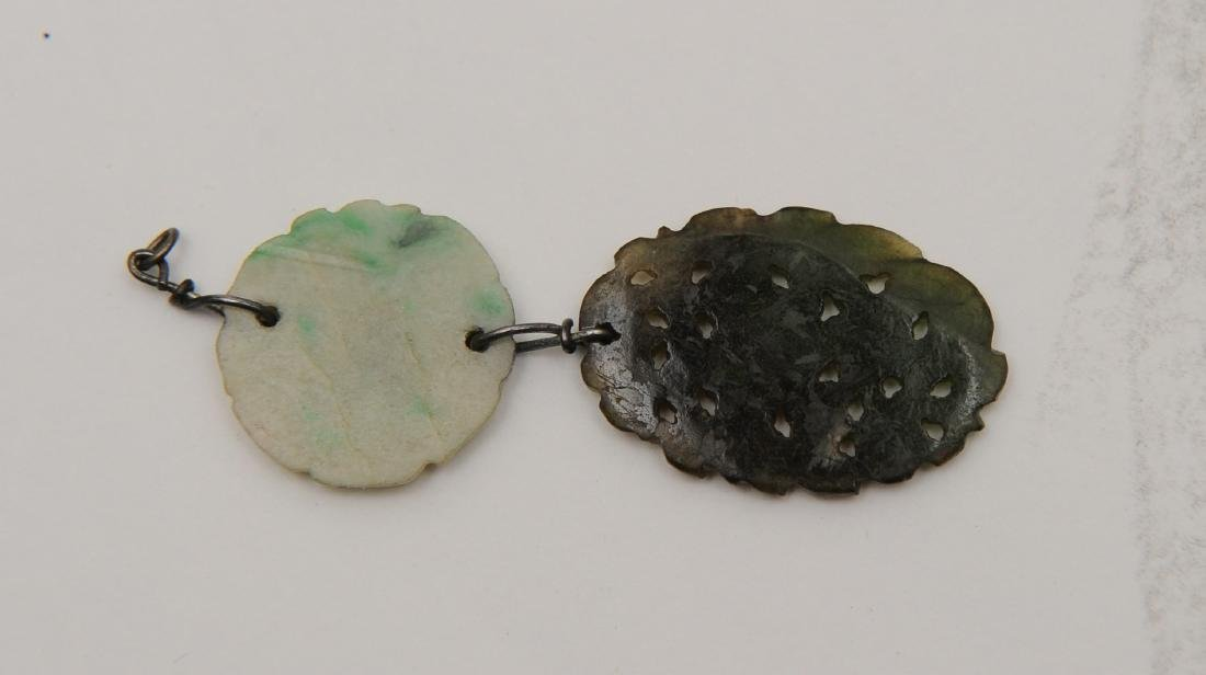 Chinese Jade & Jadeite Toggle, 19th Century - 2