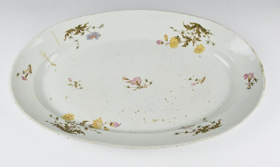 Restaurant Serving Plate, 19th Century