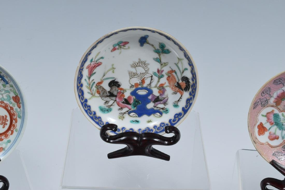 14 Chinese Porcelain Dishes, 19th Century - 3