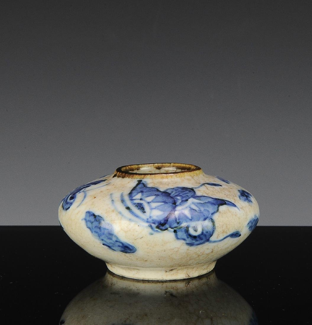 Chinese Blue and White Water Coupe, 19th C