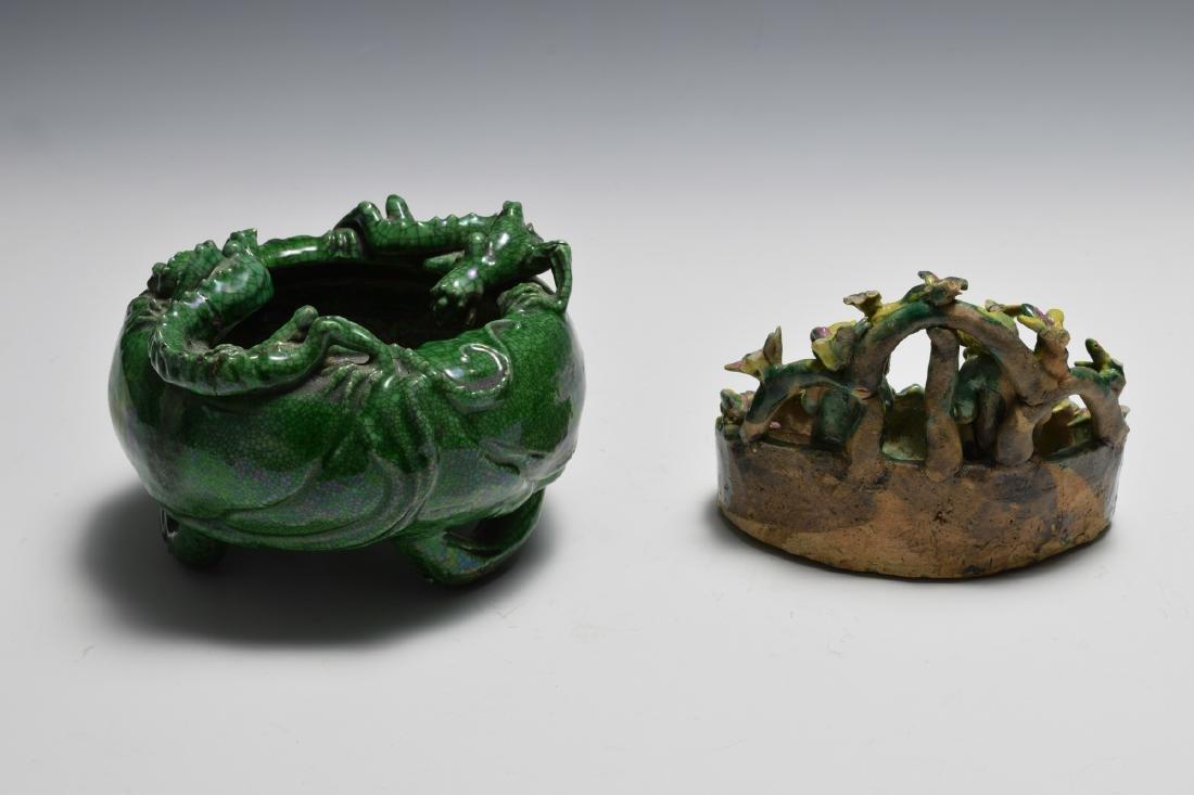 2 Chinese Scholars Items, 19th Century - 4