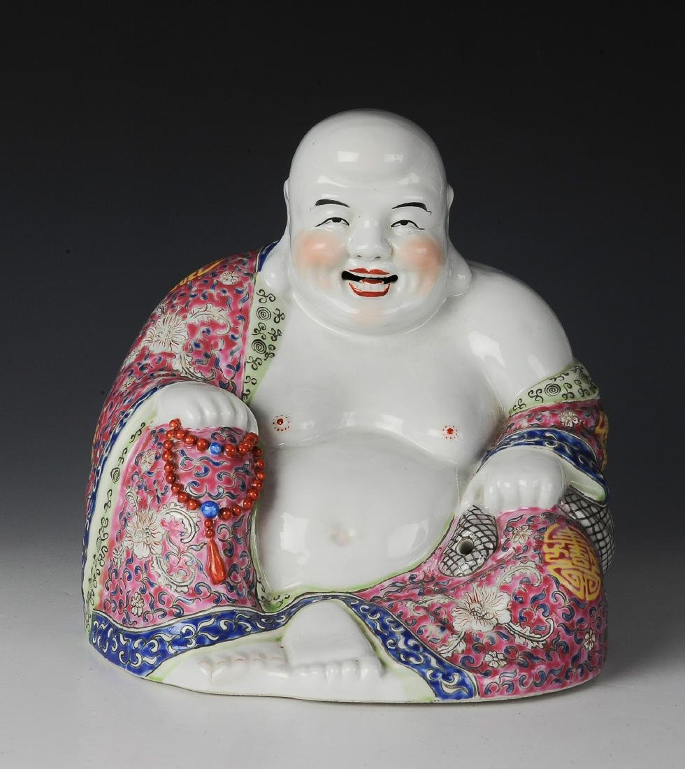 Chinese Famille Rose Porcelain Budai