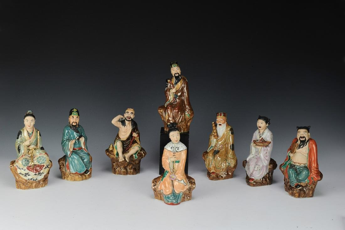 Chinese Set of Eight Immortals, Republic Period