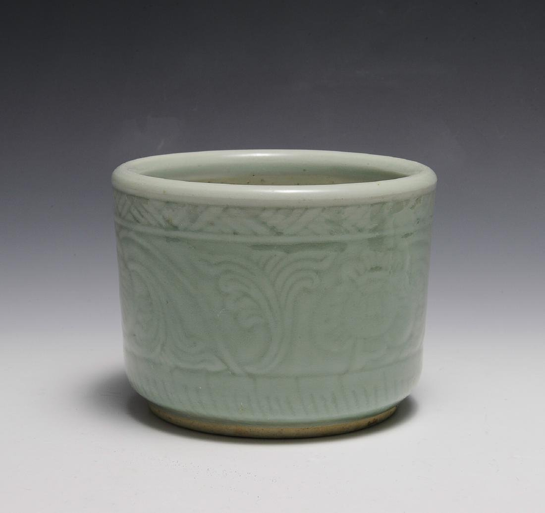 Chinese Celadon Glazed Bowl, Early 19th Century