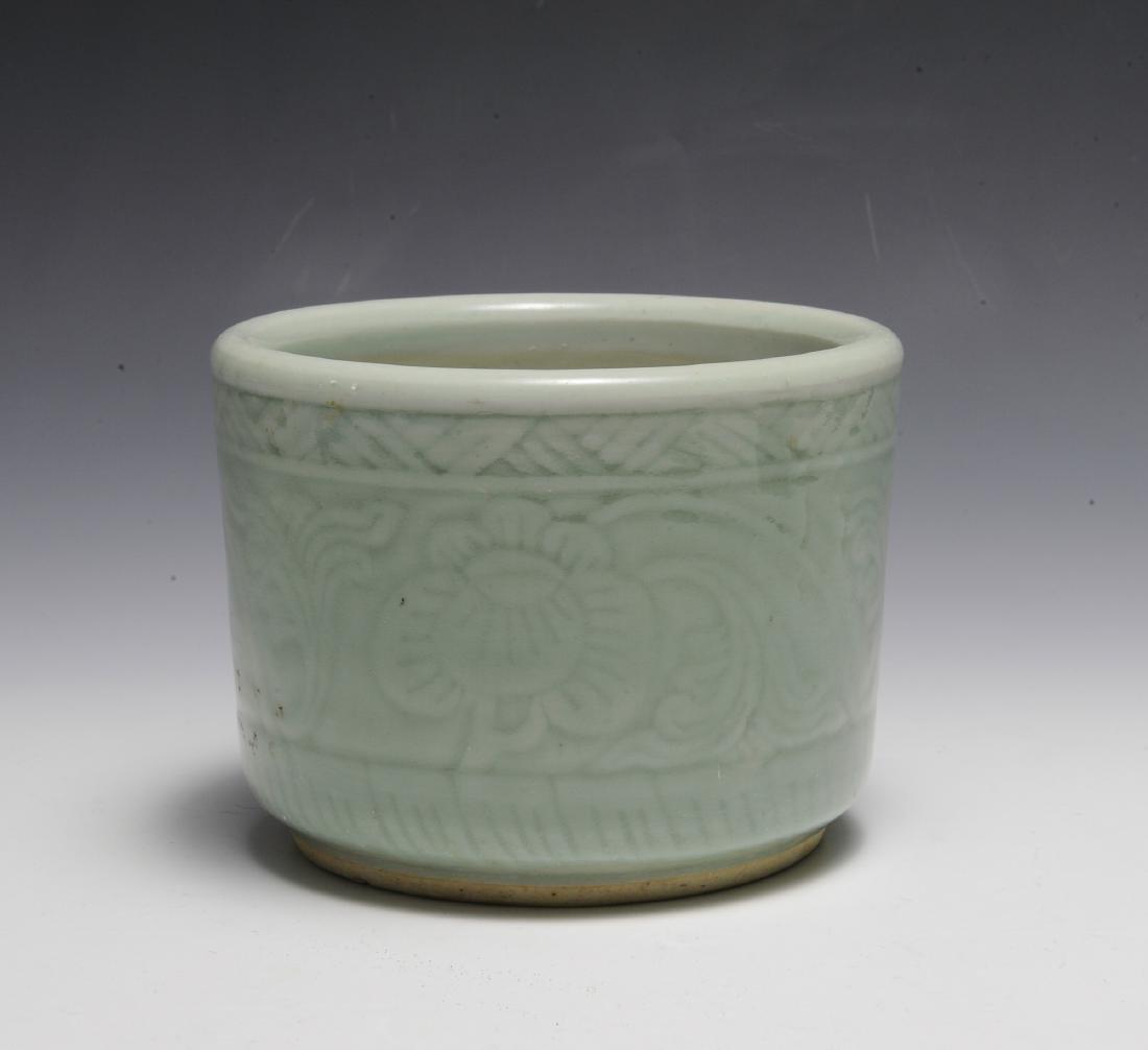 Chinese Celadon Glazed Bowl, Early 19th Century - 2
