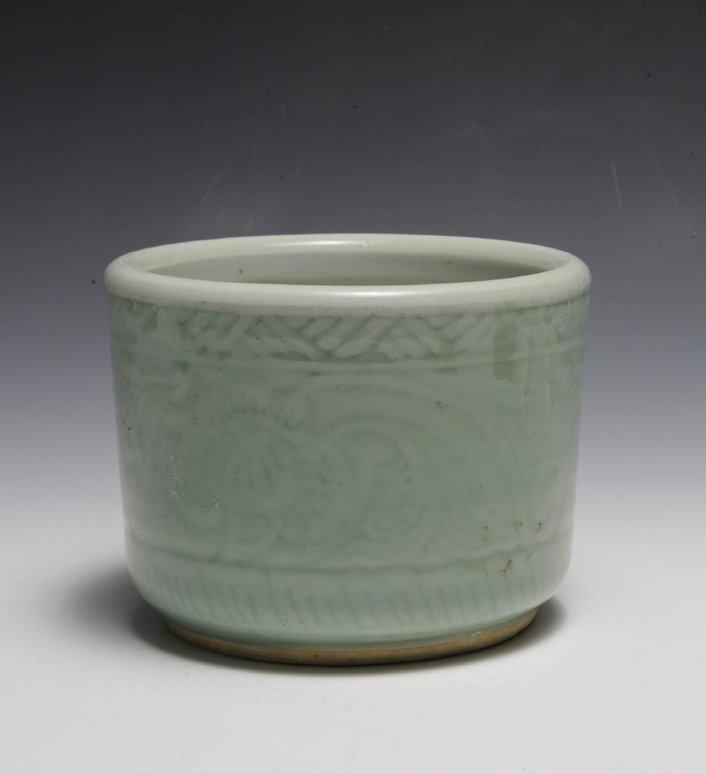 Chinese Celadon Glazed Bowl, Early 19th Century - 3