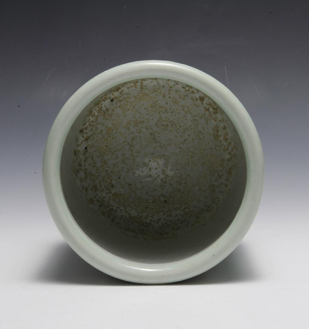 Chinese Celadon Glazed Bowl, Early 19th Century - 5