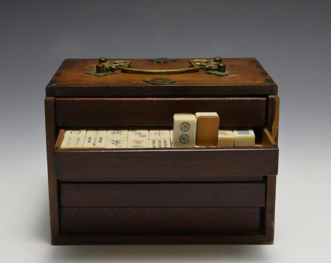 Chinese Mahjong Set, Republic Period