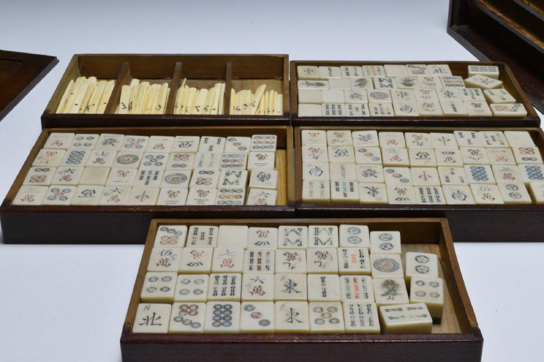 Chinese Mahjong Set, Republic Period - 2