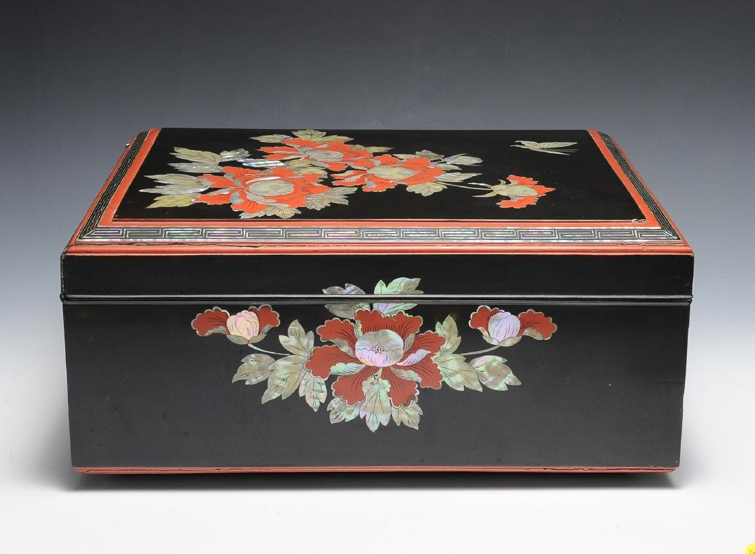 Japanese Mother of Pearl Box