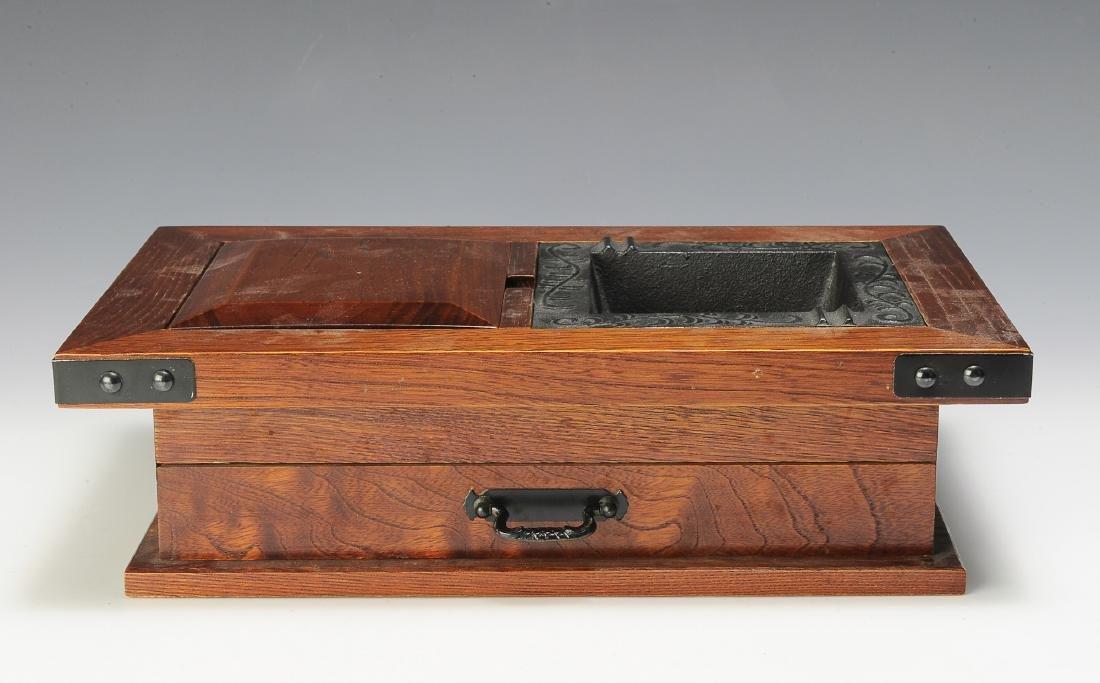 Wooden Tobacco Box