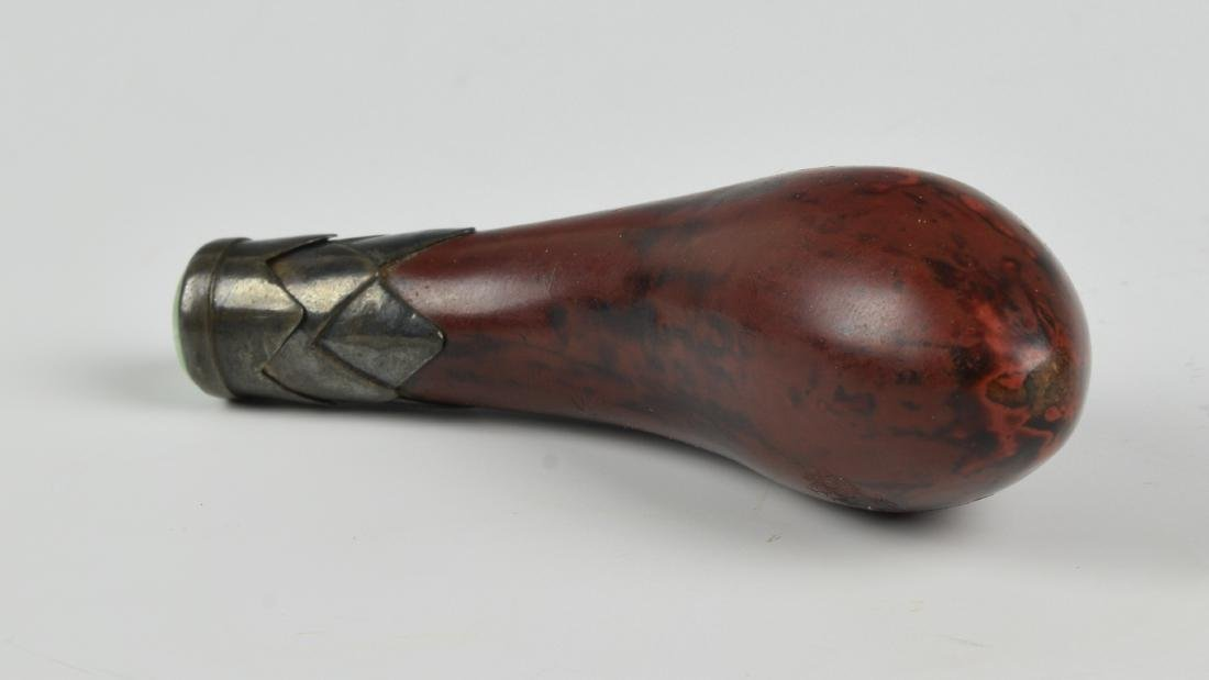 Chinese Snuff Bottle Carved from Nutshell, 19th Century - 4