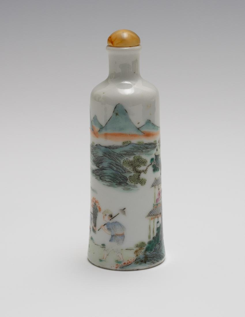 Chinese Famille Rose Snuff Bottle, Daoguang Period - 2
