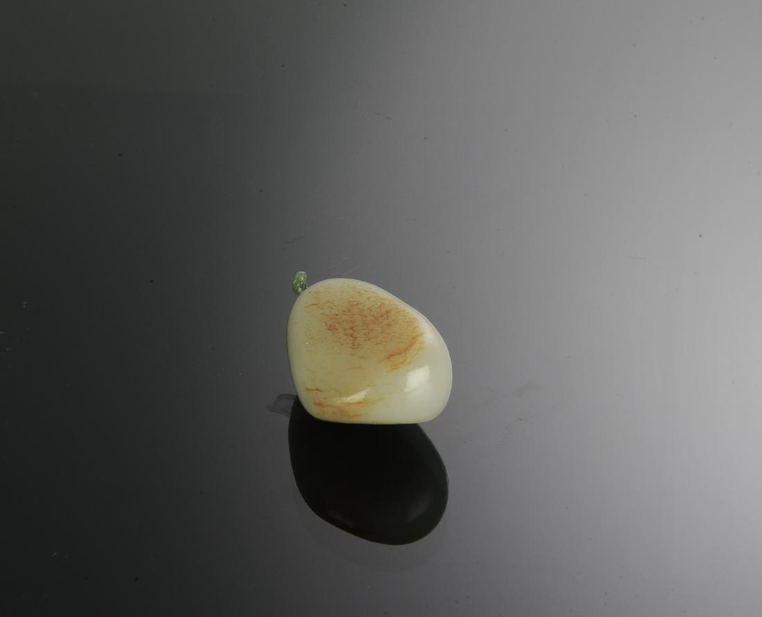 Chinese Hetian White Jade Snuff Bottle, 18th Century - 5
