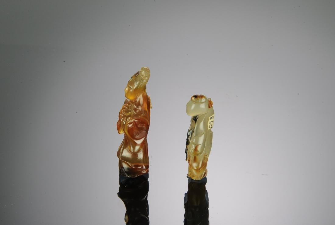 Two Chinese Agate Carvings, 17th-18th Century - 2