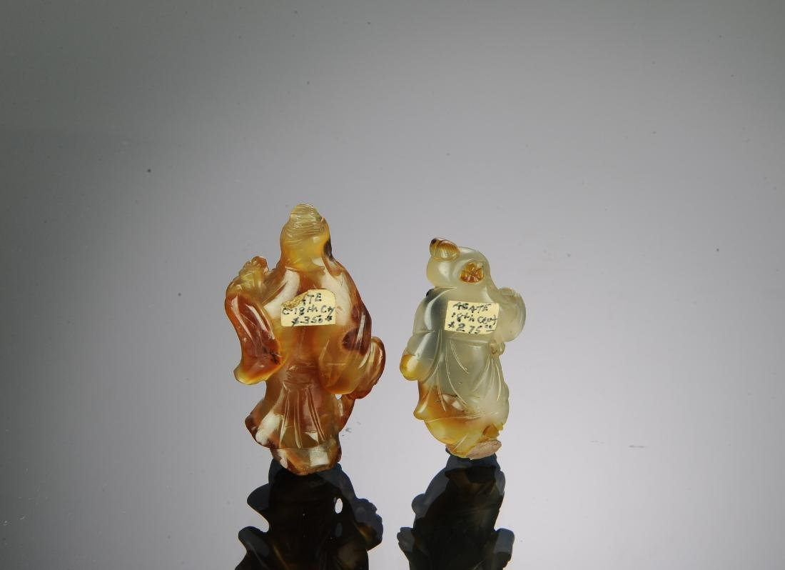 Two Chinese Agate Carvings, 17th-18th Century - 3