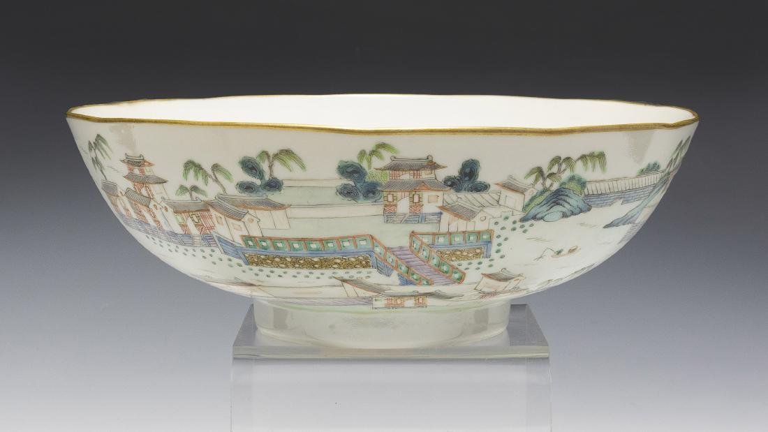 Chinese Famille Rose Porcelain Bowl, Early 19th Century