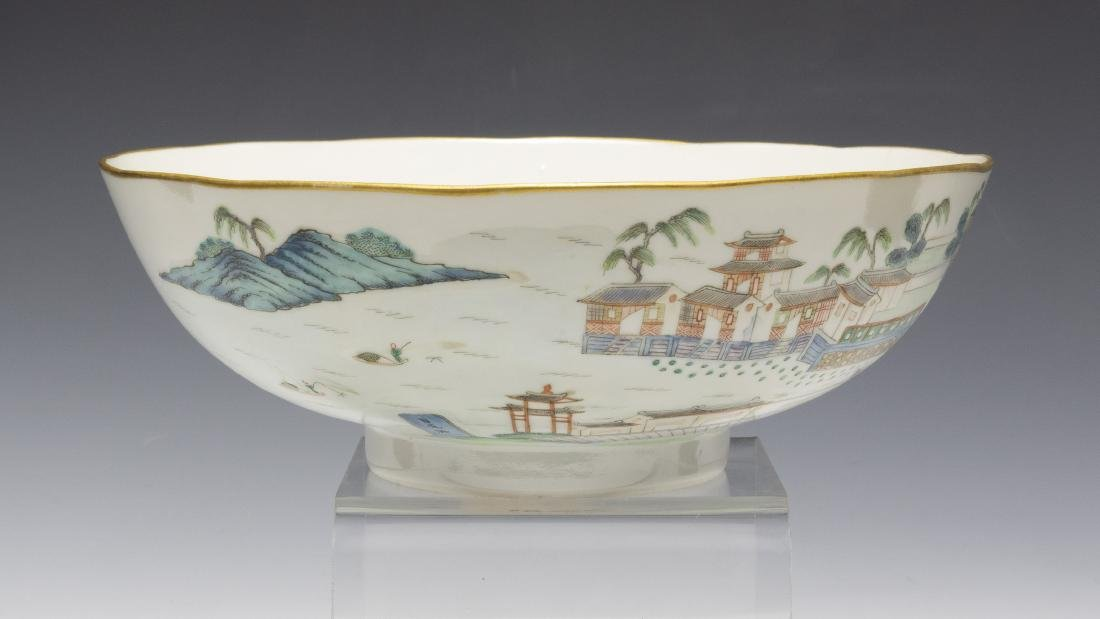 Chinese Famille Rose Porcelain Bowl, Early 19th Century - 2