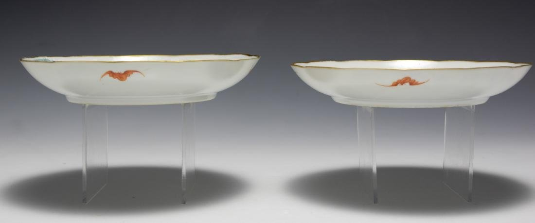 Pair of Chinese Porcelain Plates, Early 19th Century - 7
