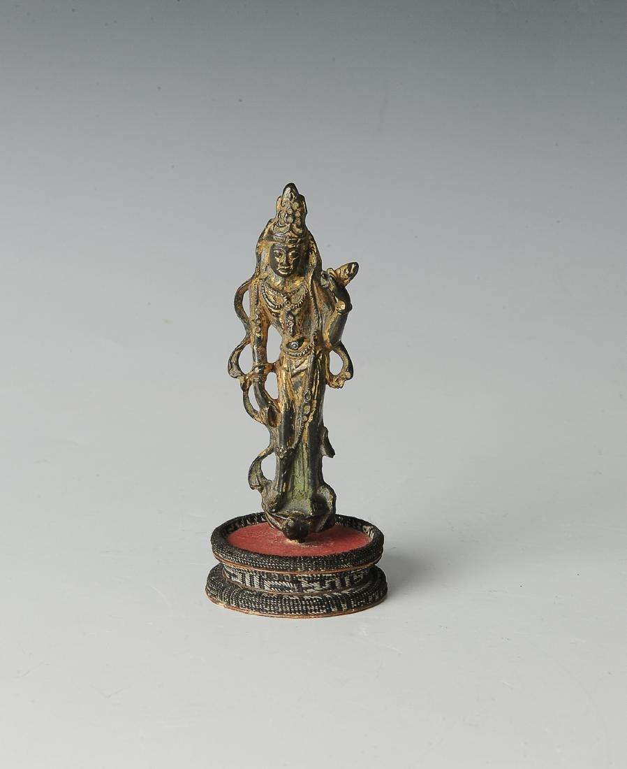 Chinese Avalokiteshvara Padmapana Buddha, Tang