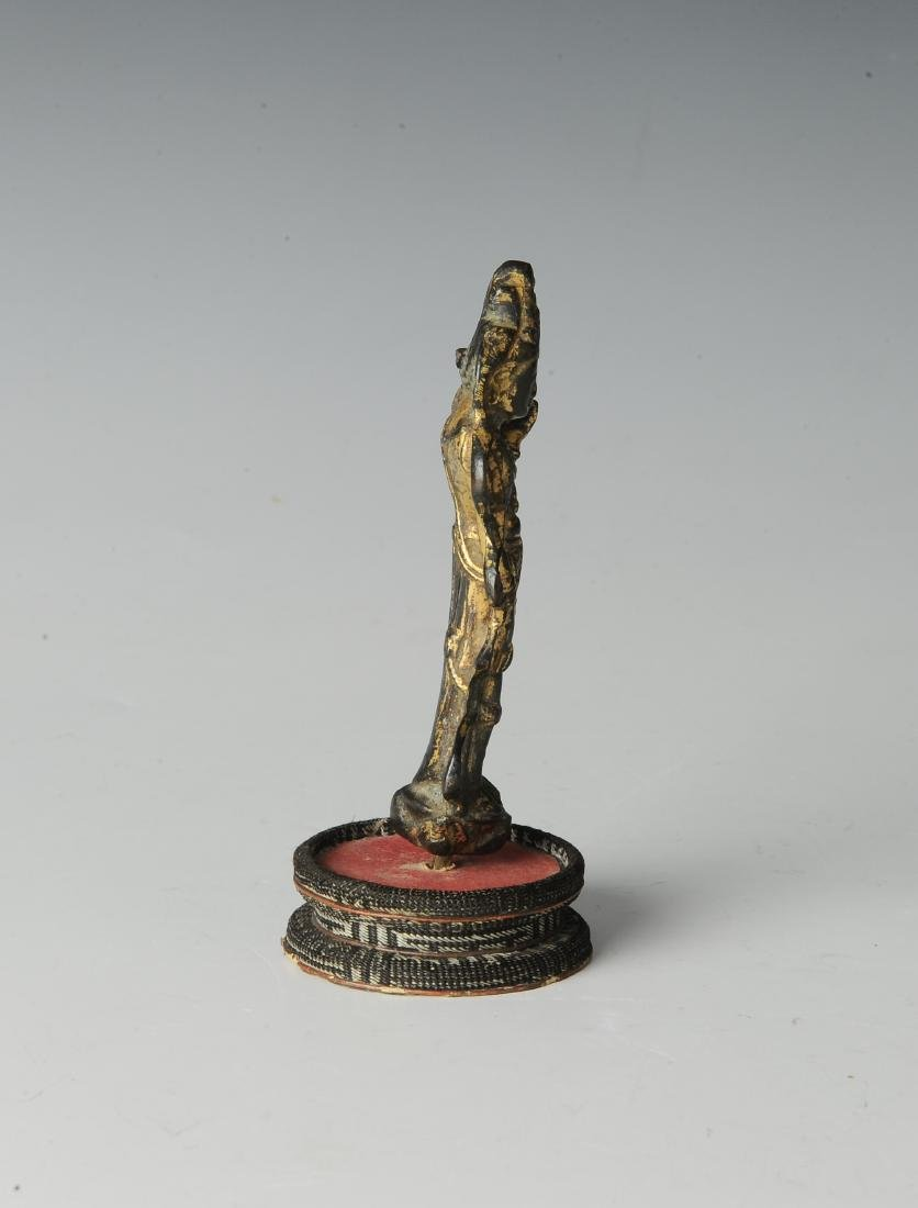 Chinese Avalokiteshvara Padmapana Buddha, Tang - 2